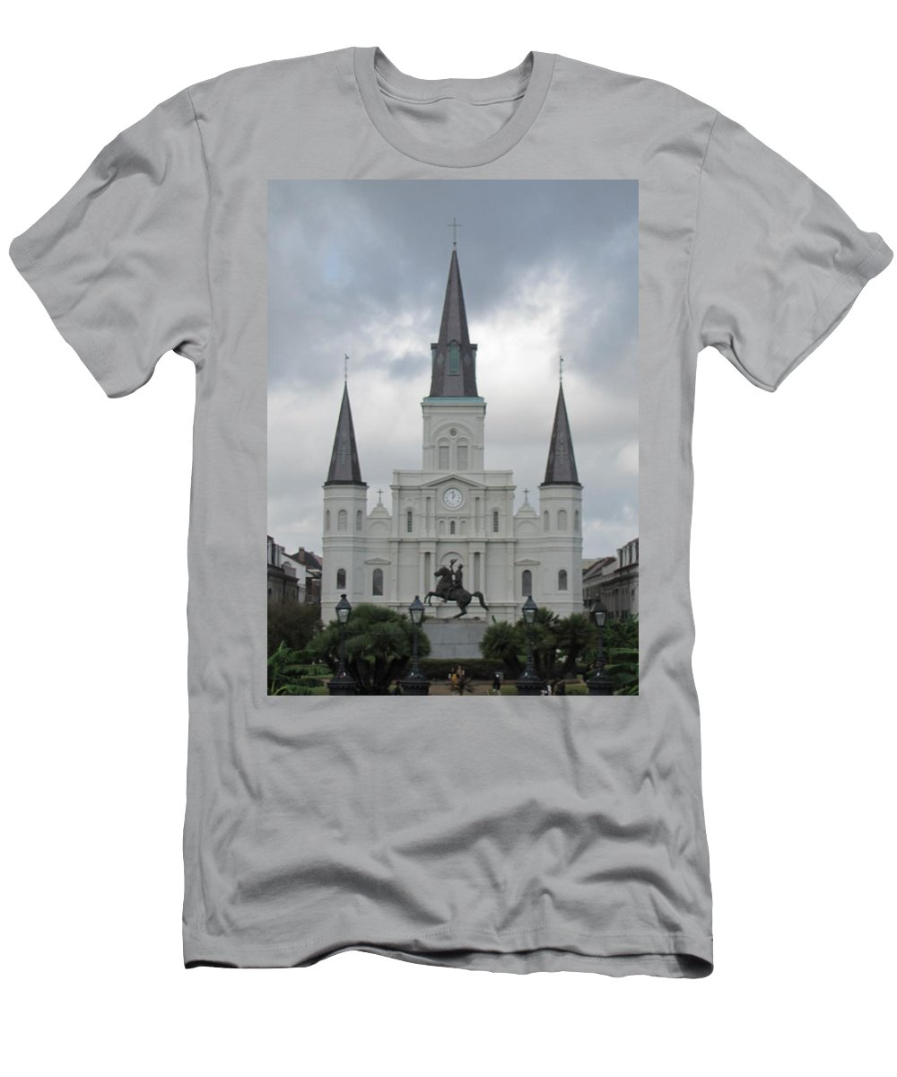 Church Men's T-Shirt (Athletic Fit) featuring the photograph Cathedral Church by Michelle Powell