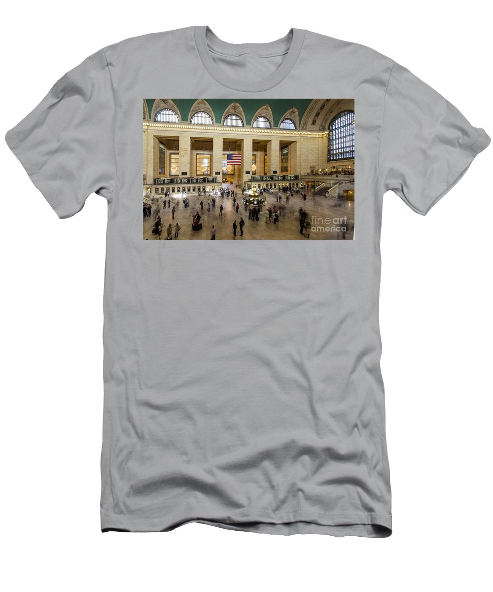 New York City T-Shirt featuring the photograph Central Station New York by Juergen Held