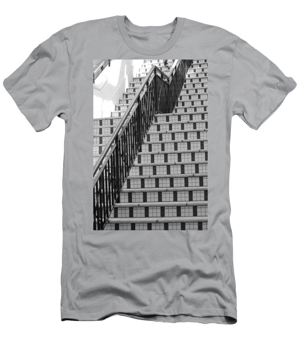 Architecture Men's T-Shirt (Athletic Fit) featuring the photograph City Stairs II by Rob Hans