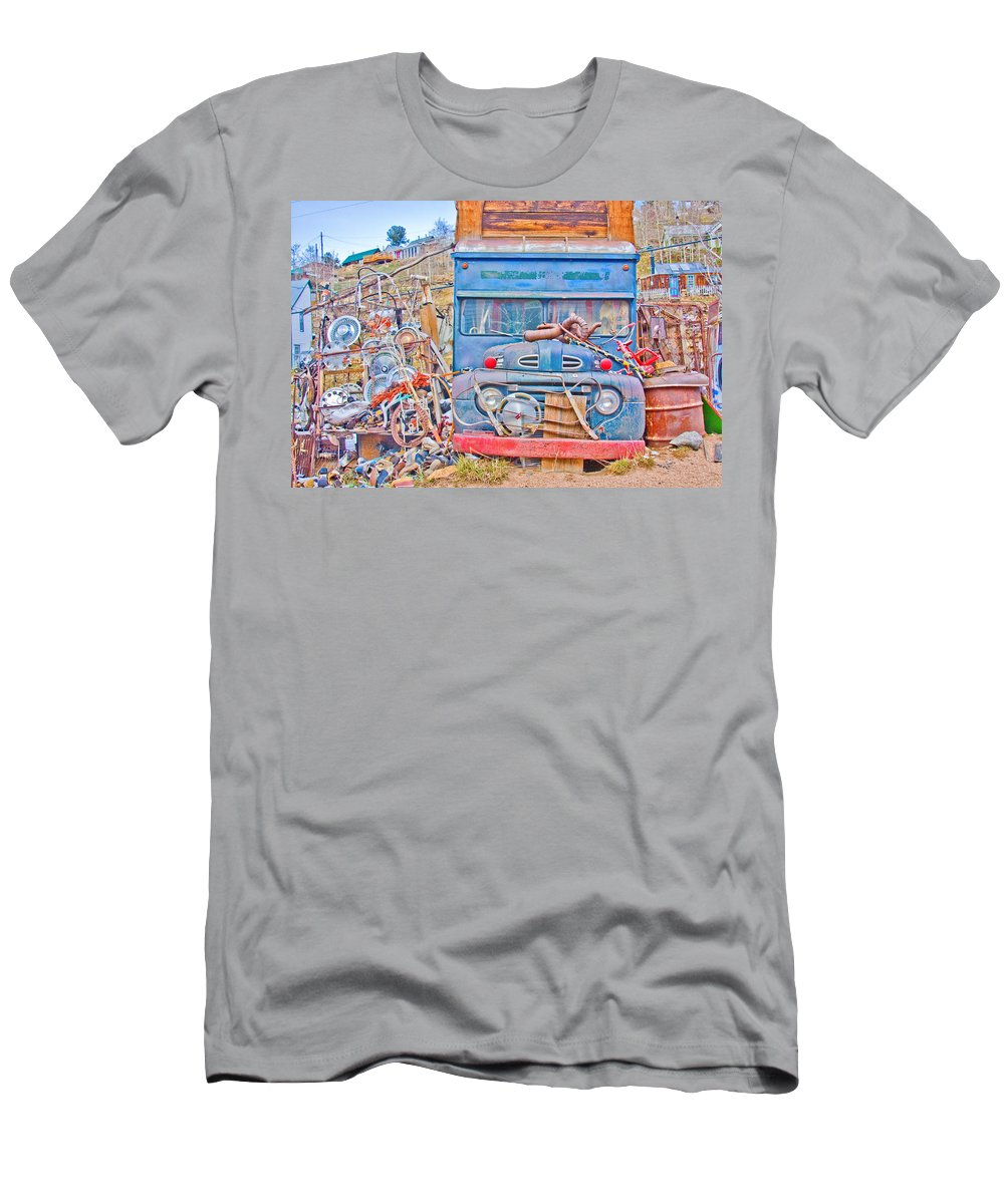 Classic Men's T-Shirt (Athletic Fit) featuring the photograph Classic Ward Colorado Boulder County by James BO Insogna