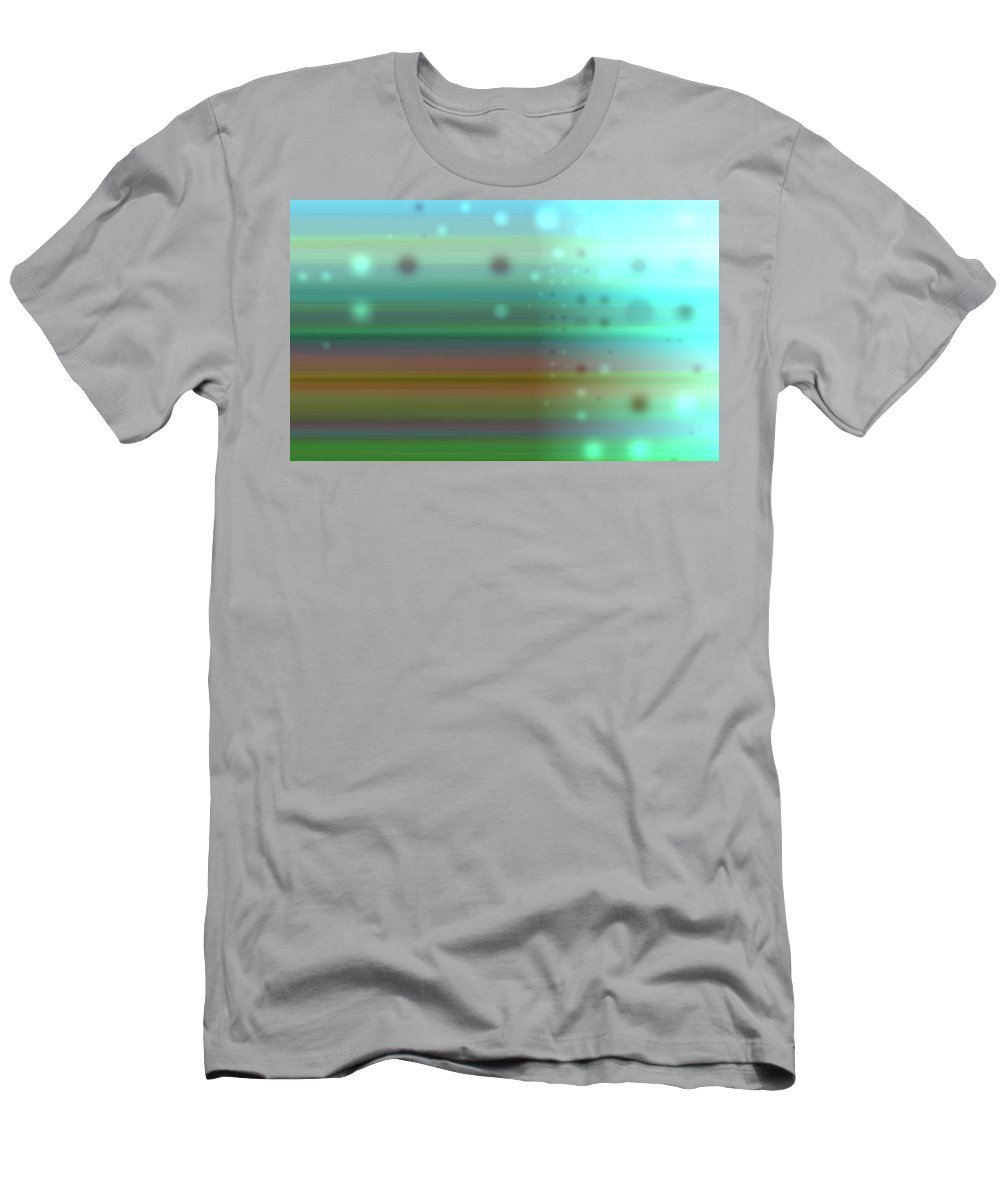 Art Digital Art Men's T-Shirt (Athletic Fit) featuring the digital art Colour17mlv - Impressions by Alex Porter