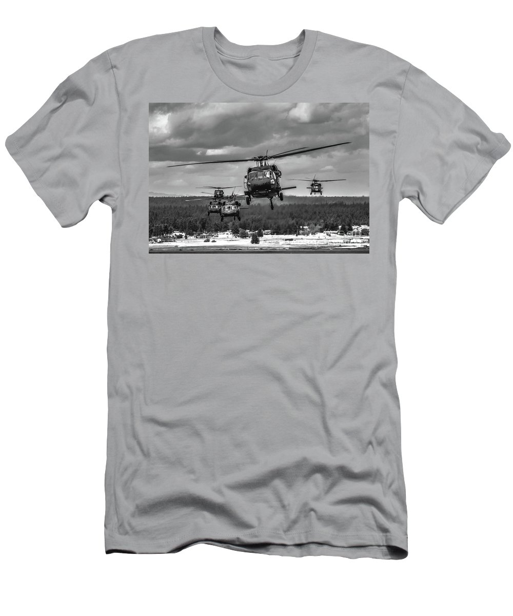 Men's T-Shirt (Athletic Fit) featuring the photograph Coming Home by Shawn Ripley