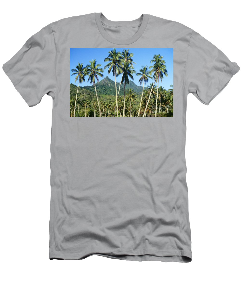 Beautiful Men's T-Shirt (Athletic Fit) featuring the photograph Cook Islands by Kyle Rothenborg - Printscapes