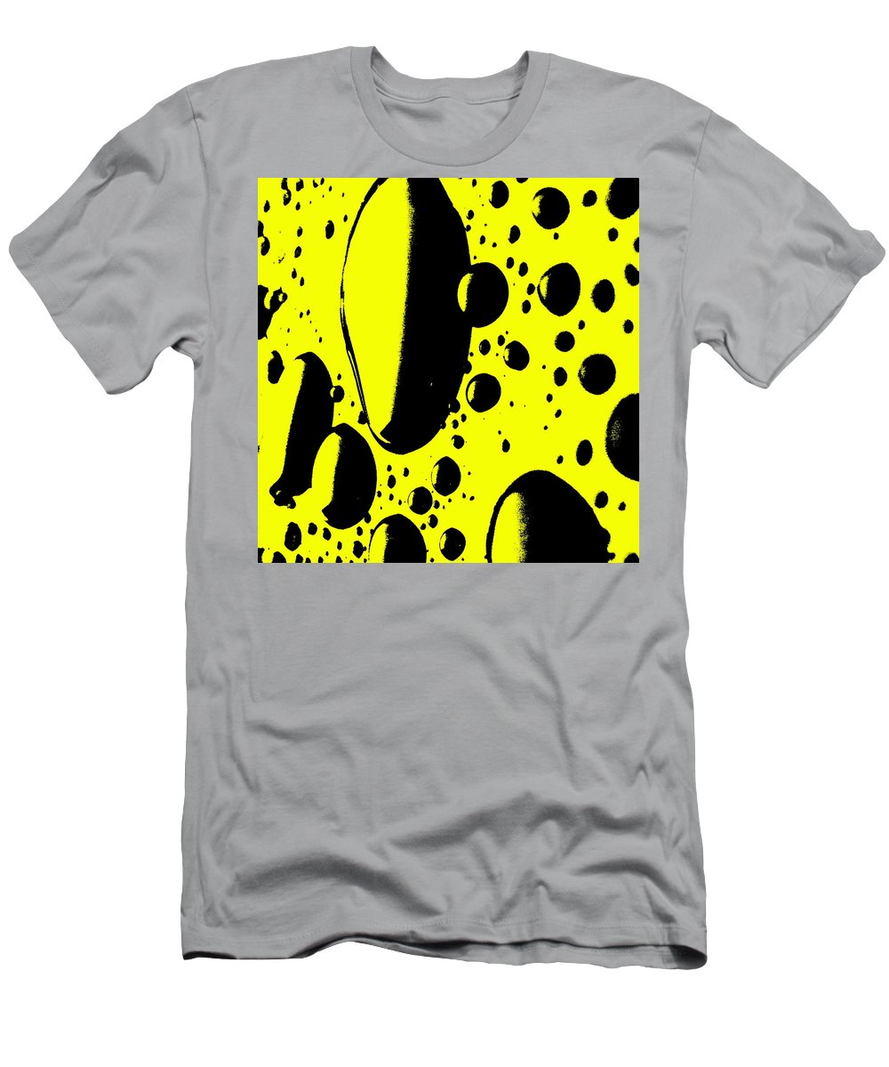 Still Life Men's T-Shirt (Athletic Fit) featuring the photograph Cosmic Turmoil by Ed Smith