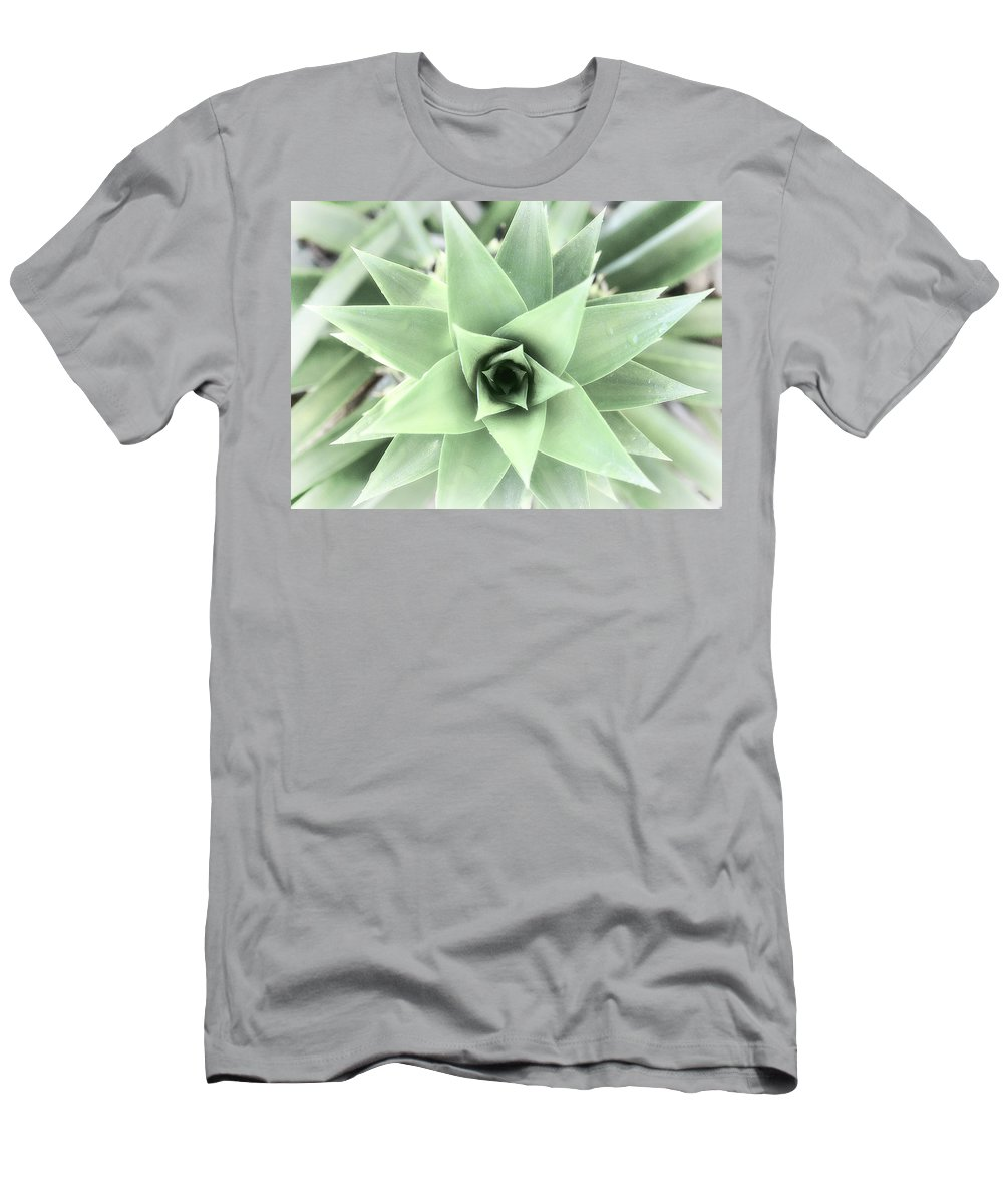 Men's T-Shirt (Athletic Fit) featuring the photograph Cross Process Pineapple by Randall Tosch
