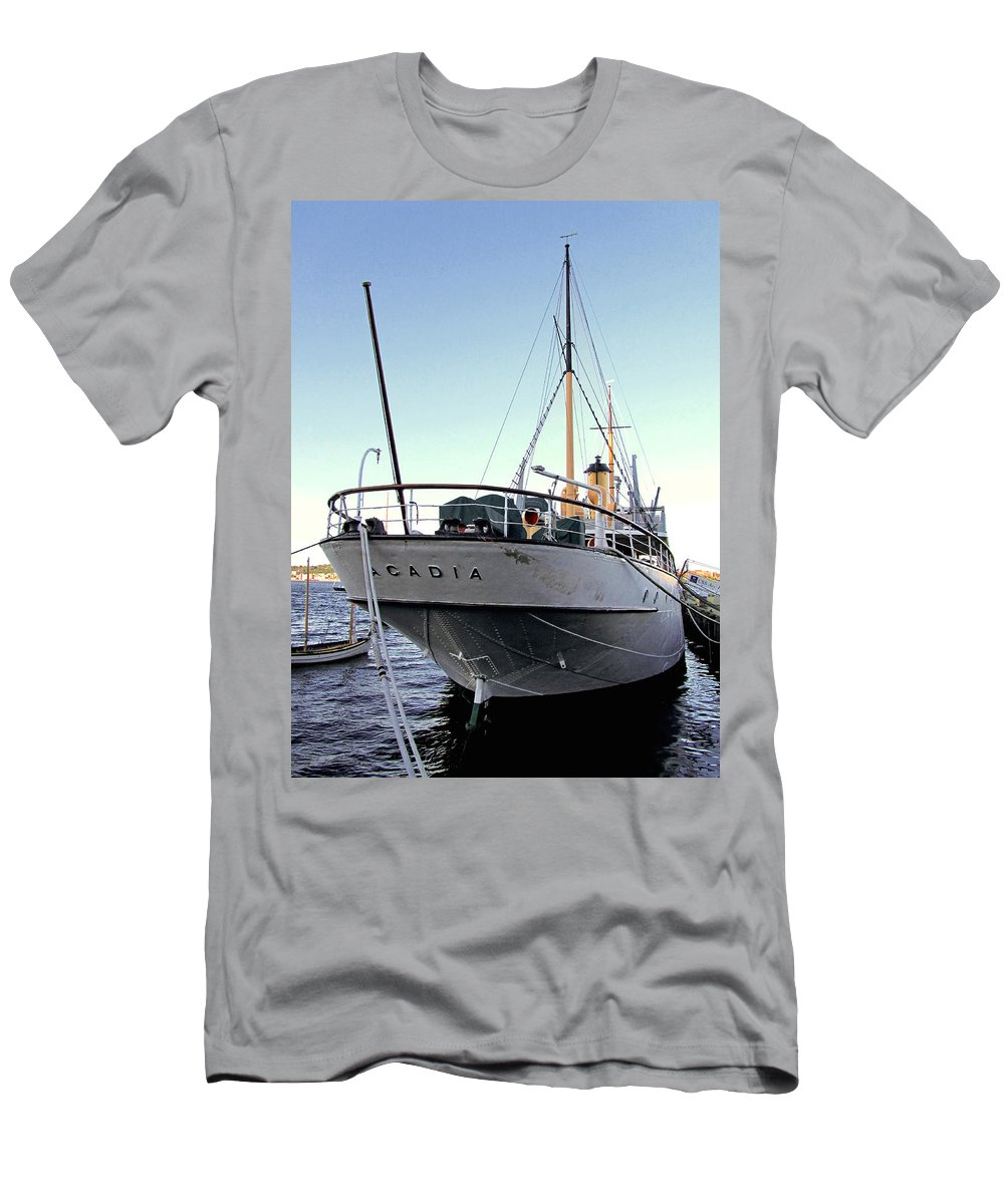 Acadia Men's T-Shirt (Athletic Fit) featuring the photograph Css Acadia 1 by Mark Sellers