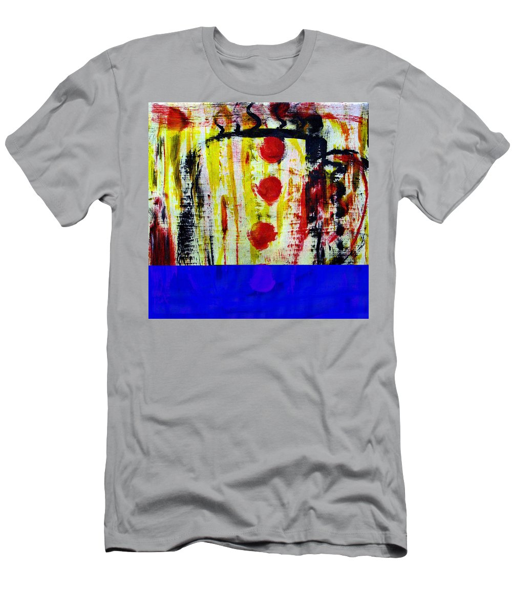 Coffee Men's T-Shirt (Athletic Fit) featuring the painting Cup Of Java by Wayne Potrafka