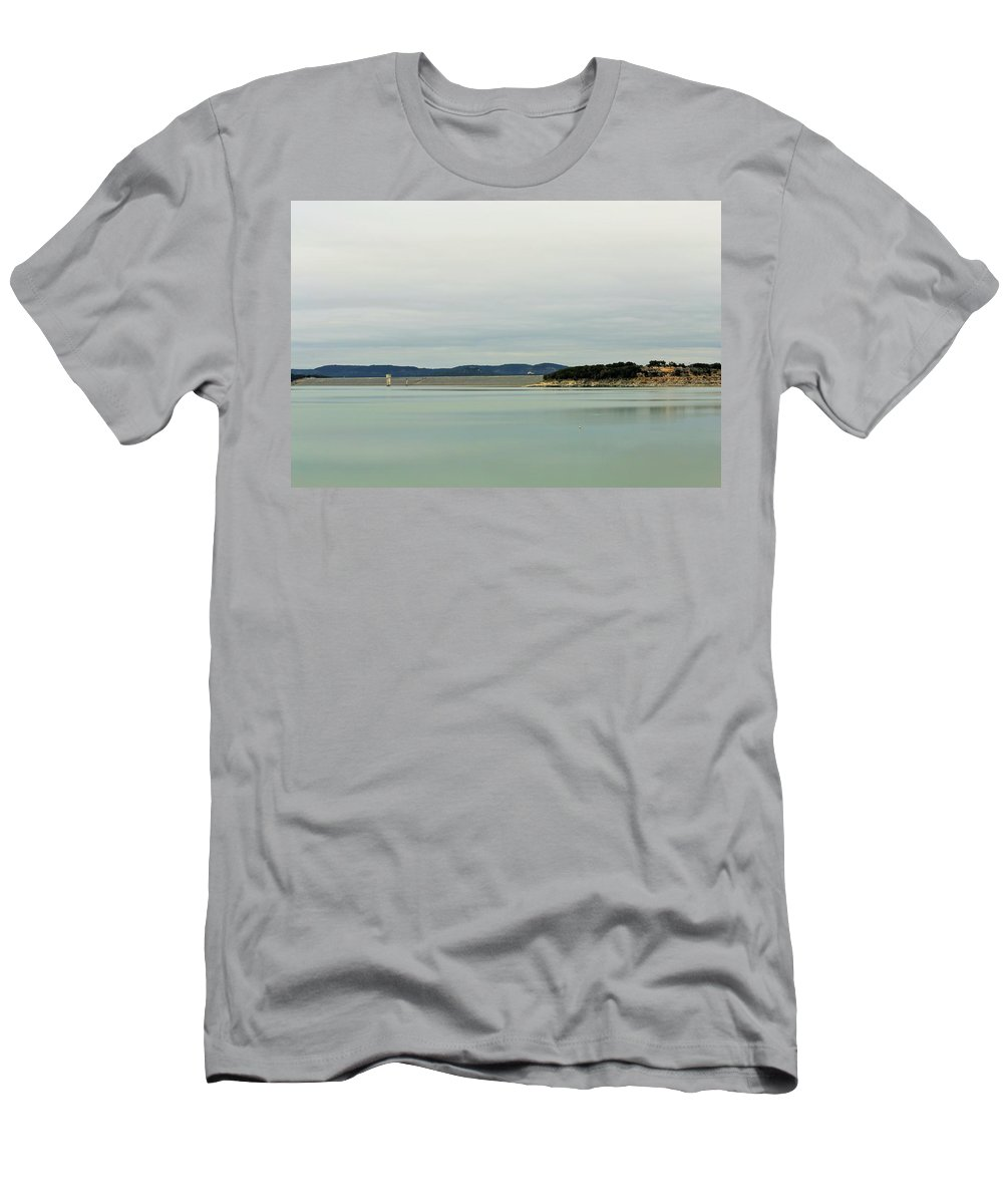 Men's T-Shirt (Athletic Fit) featuring the photograph Dam005 by Jeff Downs