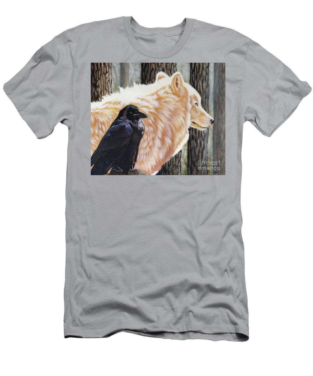 Acrylic Men's T-Shirt (Athletic Fit) featuring the painting Dance In The Light by Sandi Baker