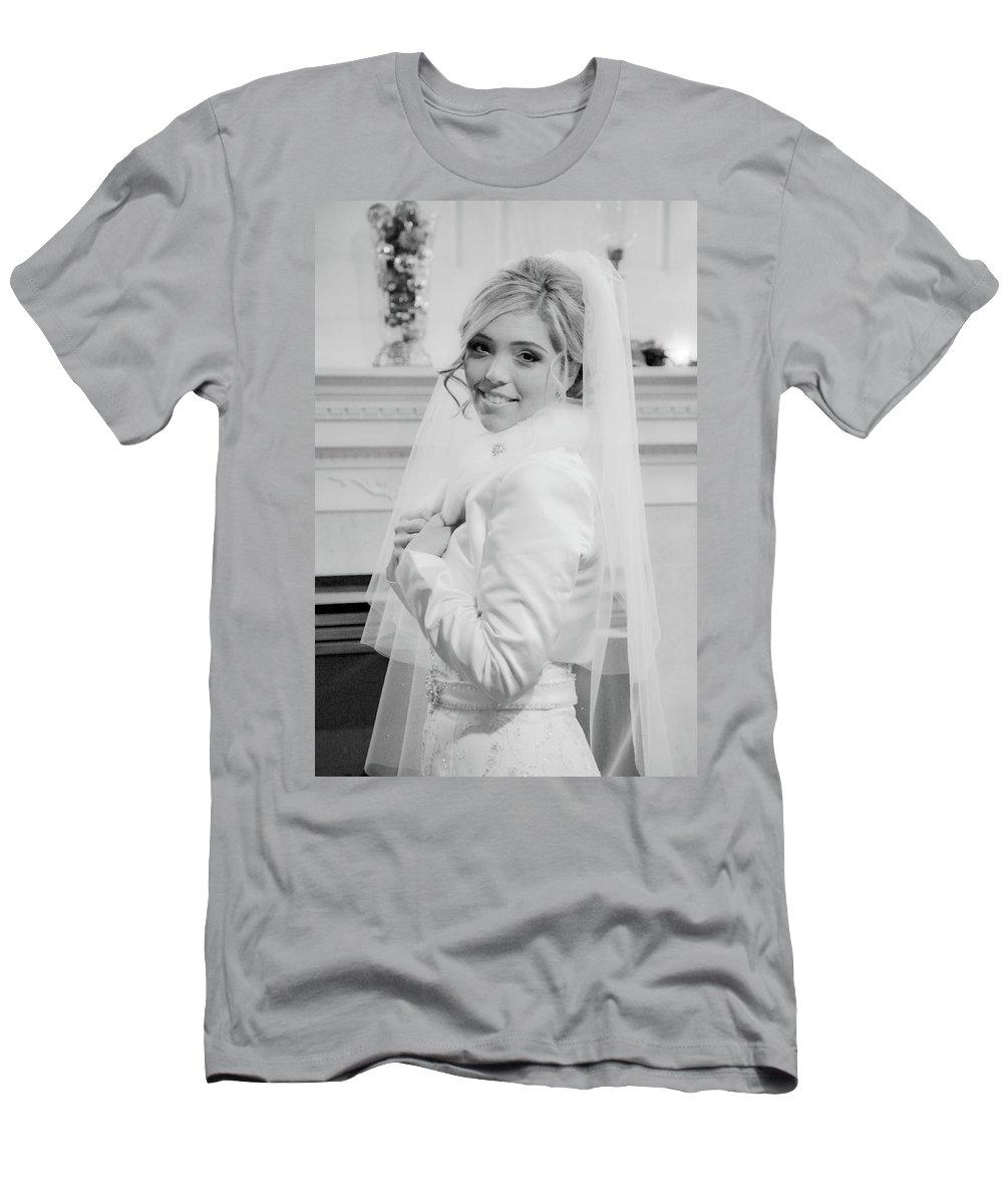 Men's T-Shirt (Athletic Fit) featuring the photograph Des by Trish Tritz