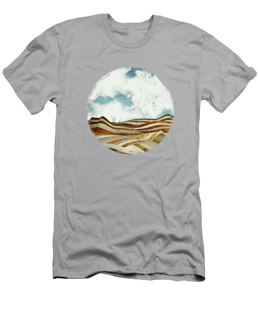 Desert T-Shirt featuring the digital art Desert Calm by Spacefrog Designs