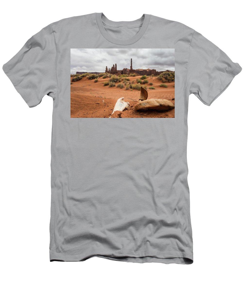 Bones T-Shirt featuring the photograph Dessert Remains by Roy Nierdieck