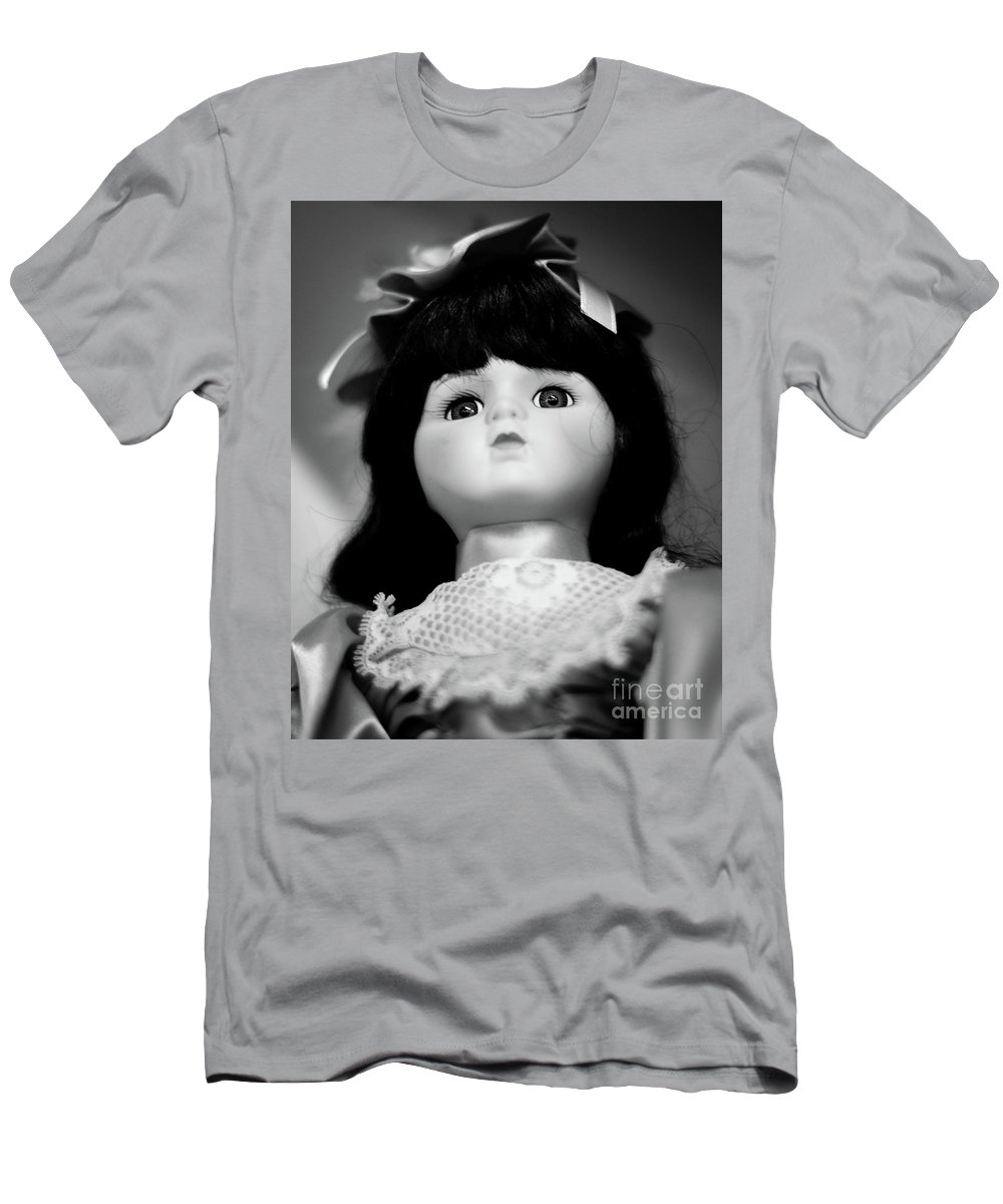 Doll Men's T-Shirt (Athletic Fit) featuring the photograph Doll 63 by Robert Yaeger