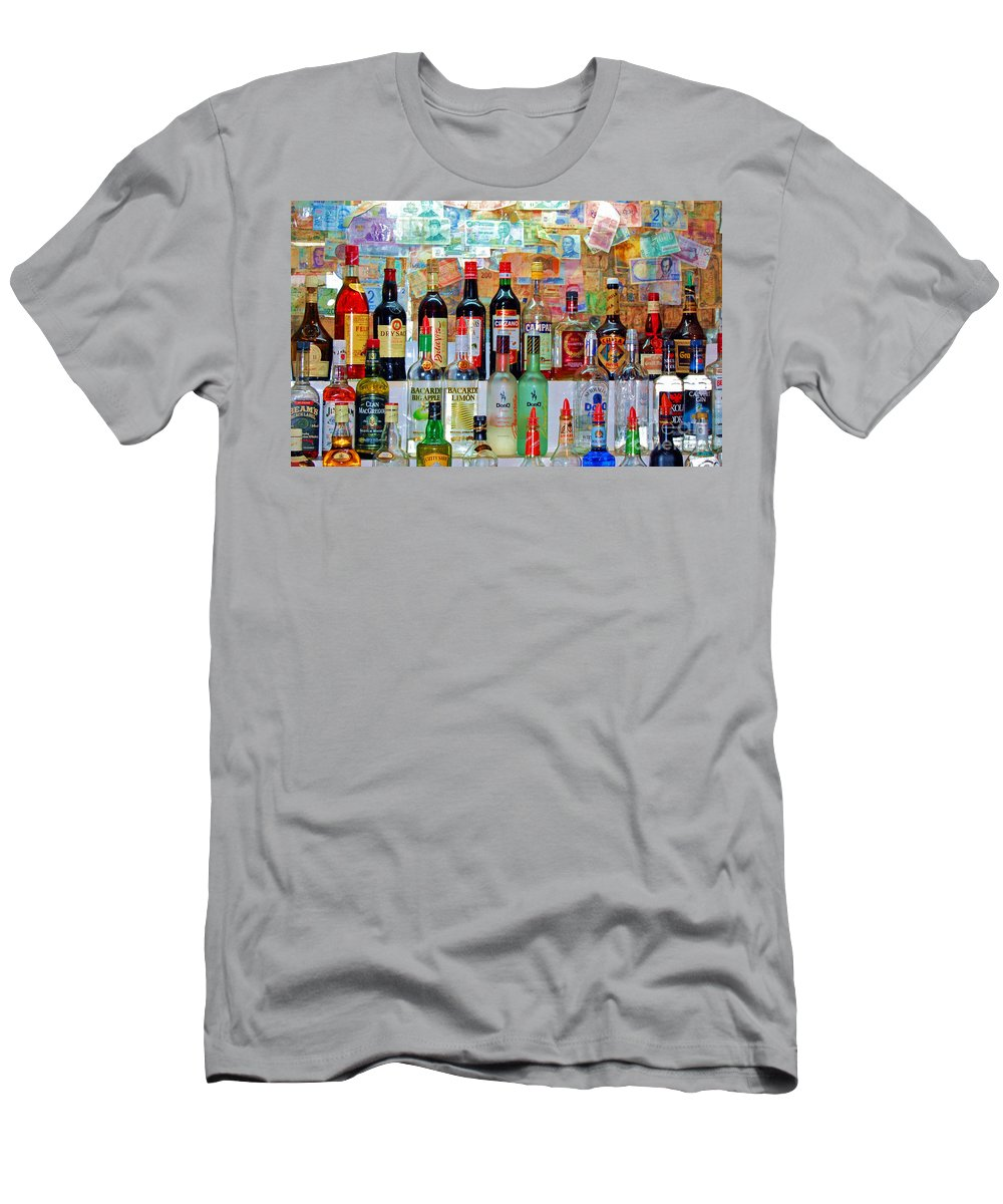 Liquor Men's T-Shirt (Athletic Fit) featuring the photograph Don Q by Debbi Granruth