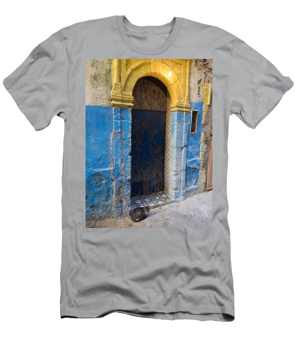 Photography T-Shirt featuring the photograph Doorway In The Mellah The Former Jewish by Panoramic Images