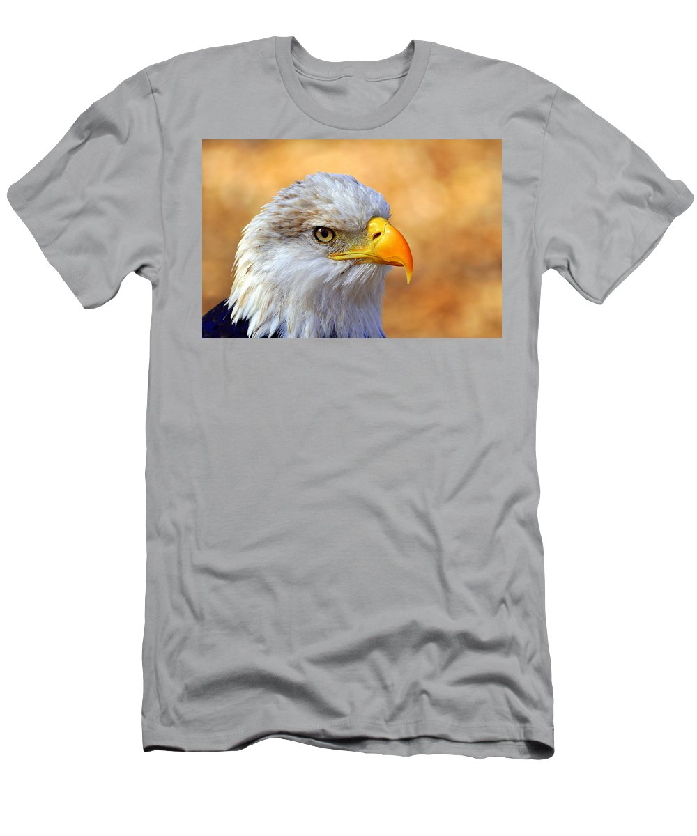 Eagle Men's T-Shirt (Athletic Fit) featuring the photograph Eagle 7 by Marty Koch