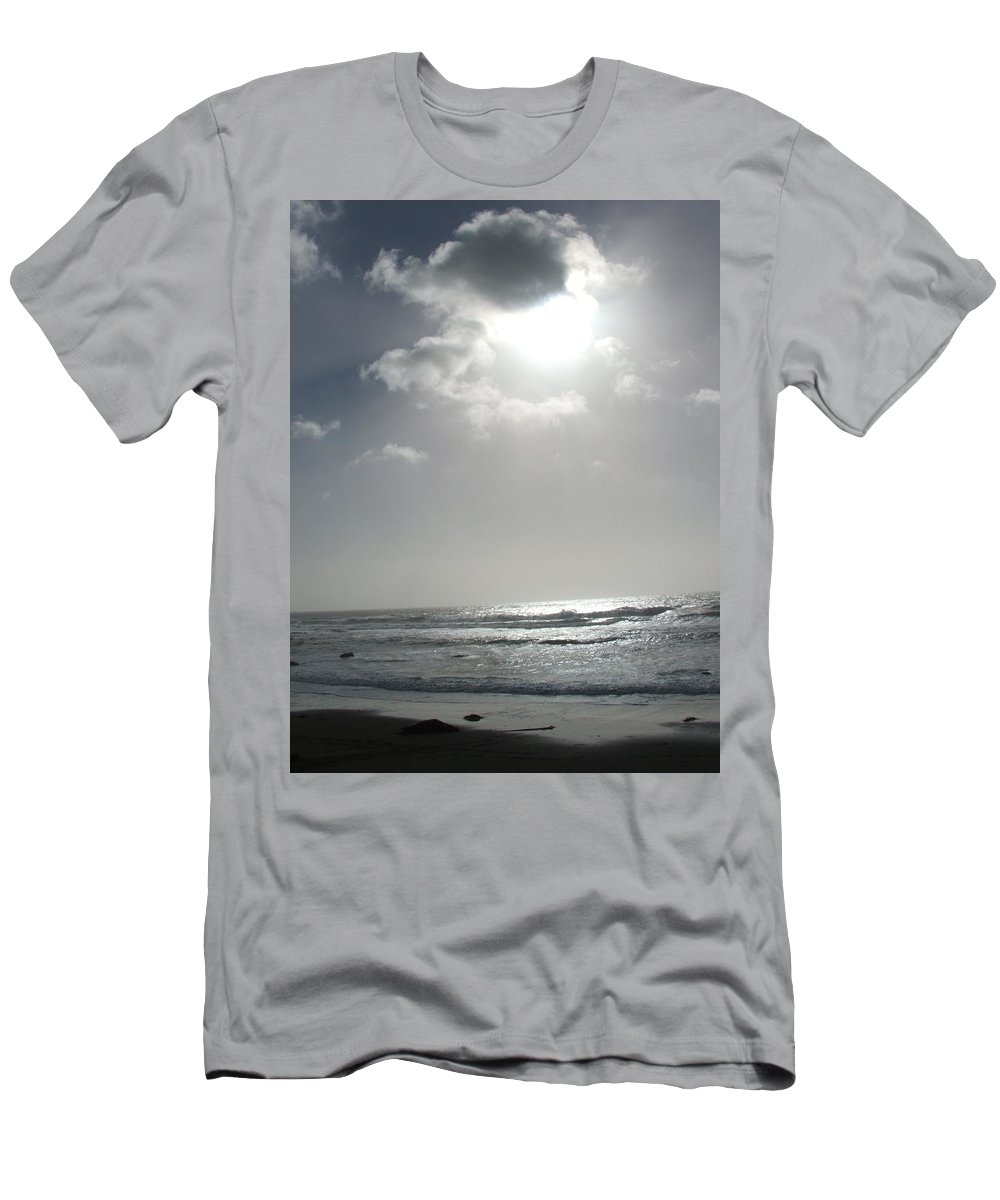 Black And White Men's T-Shirt (Athletic Fit) featuring the photograph Enlightened by Shari Chavira
