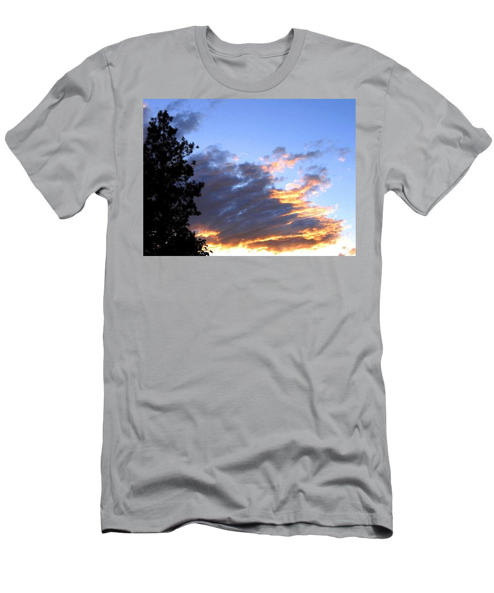 Sunset Men's T-Shirt (Athletic Fit) featuring the photograph Evening Color by Will Borden
