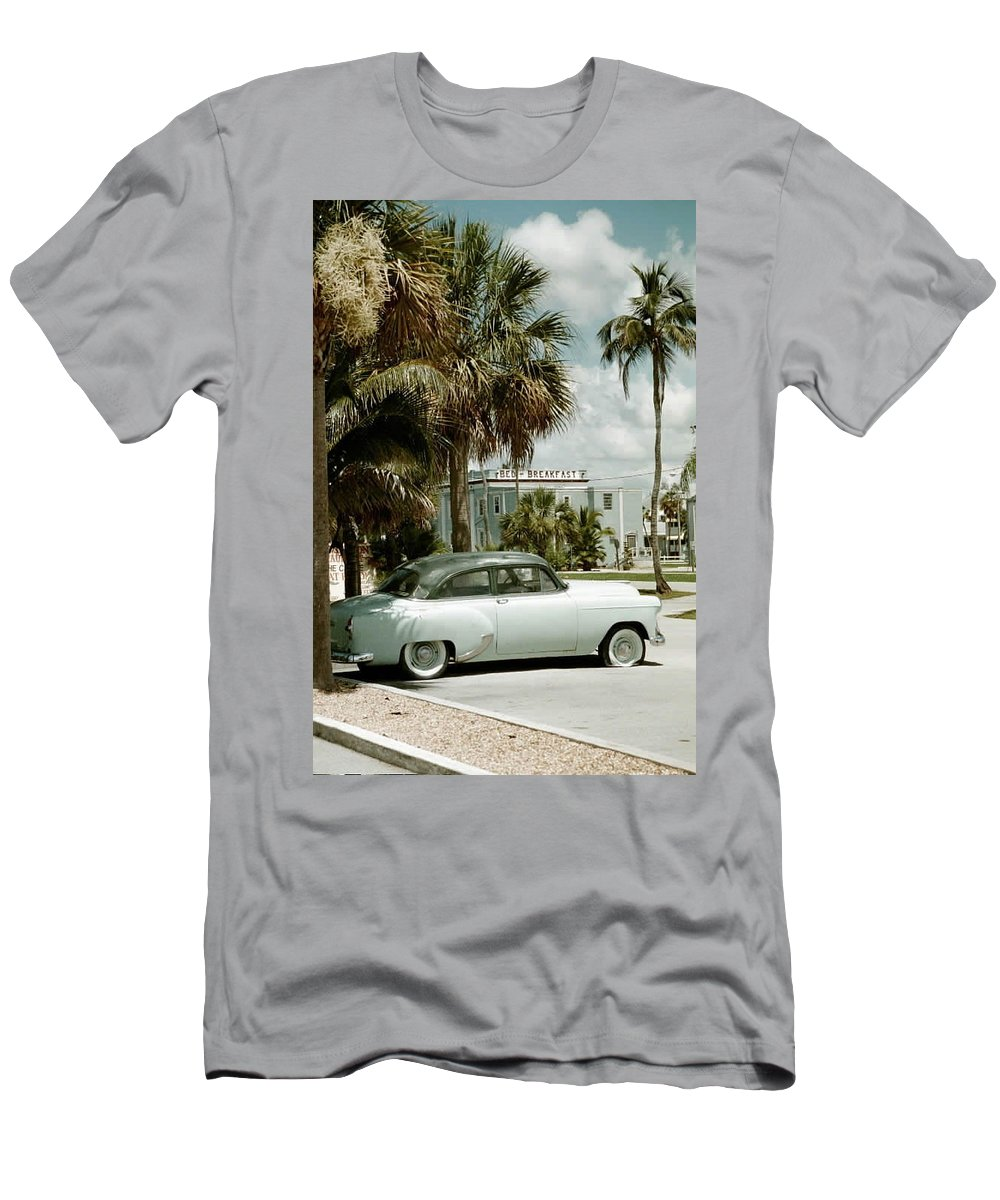 Everglade City Men's T-Shirt (Athletic Fit) featuring the photograph Everglade City I by Flavia Westerwelle