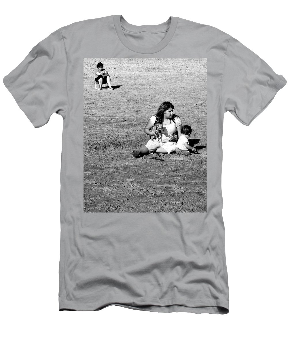 Mother Men's T-Shirt (Athletic Fit) featuring the photograph Excavation by Dominic Piperata
