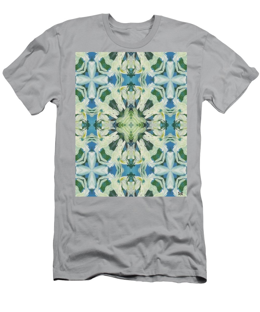 Acrylics Men's T-Shirt (Athletic Fit) featuring the mixed media Fairy Magic by Maria Watt
