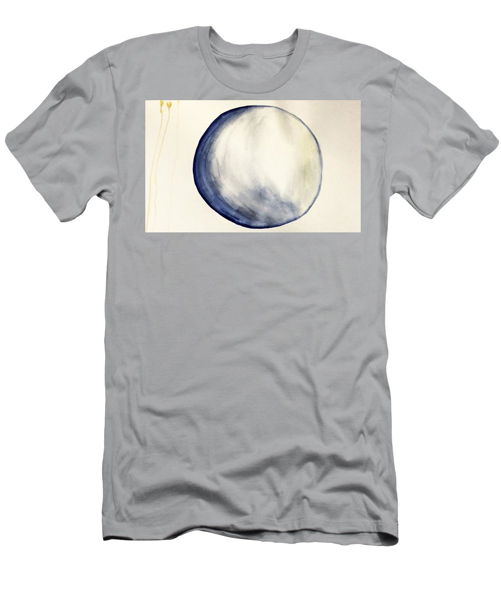 Minimalist Men's T-Shirt (Athletic Fit) featuring the painting Falling by Kaylee Willett