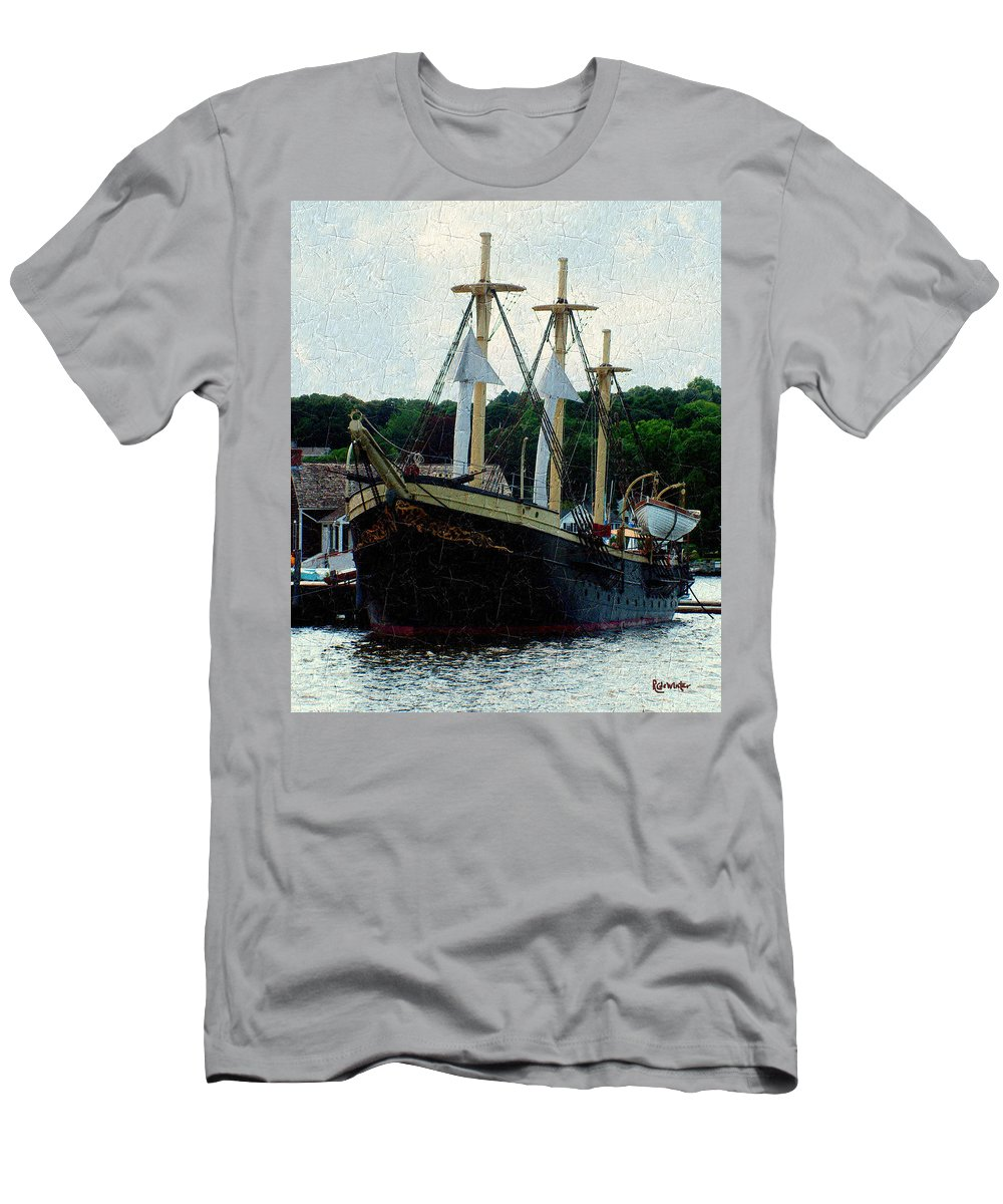 Antique Men's T-Shirt (Athletic Fit) featuring the painting Fit And Trim by RC DeWinter