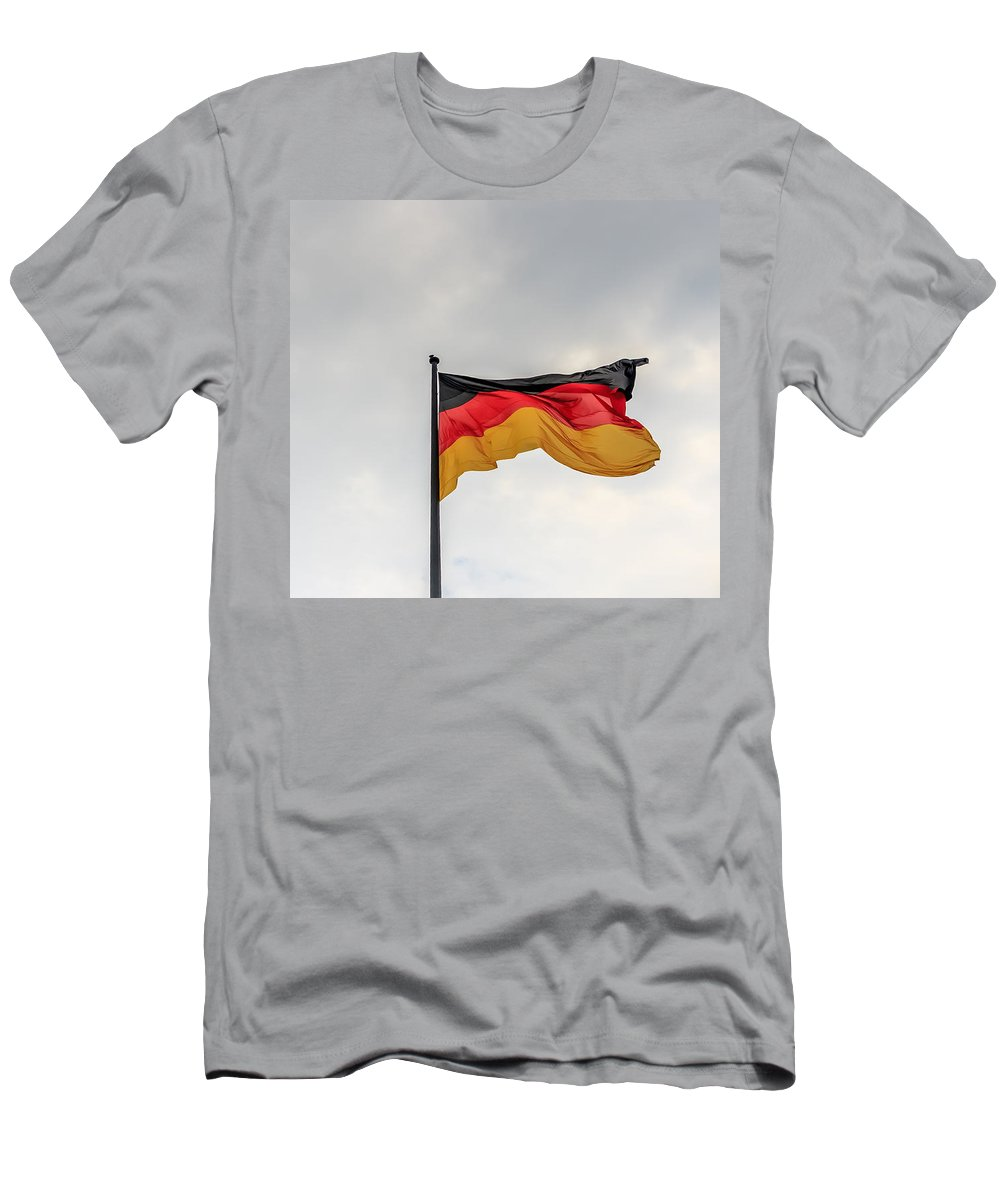 Flag Men's T-Shirt (Athletic Fit) featuring the photograph Flag by Boris Kijevskij