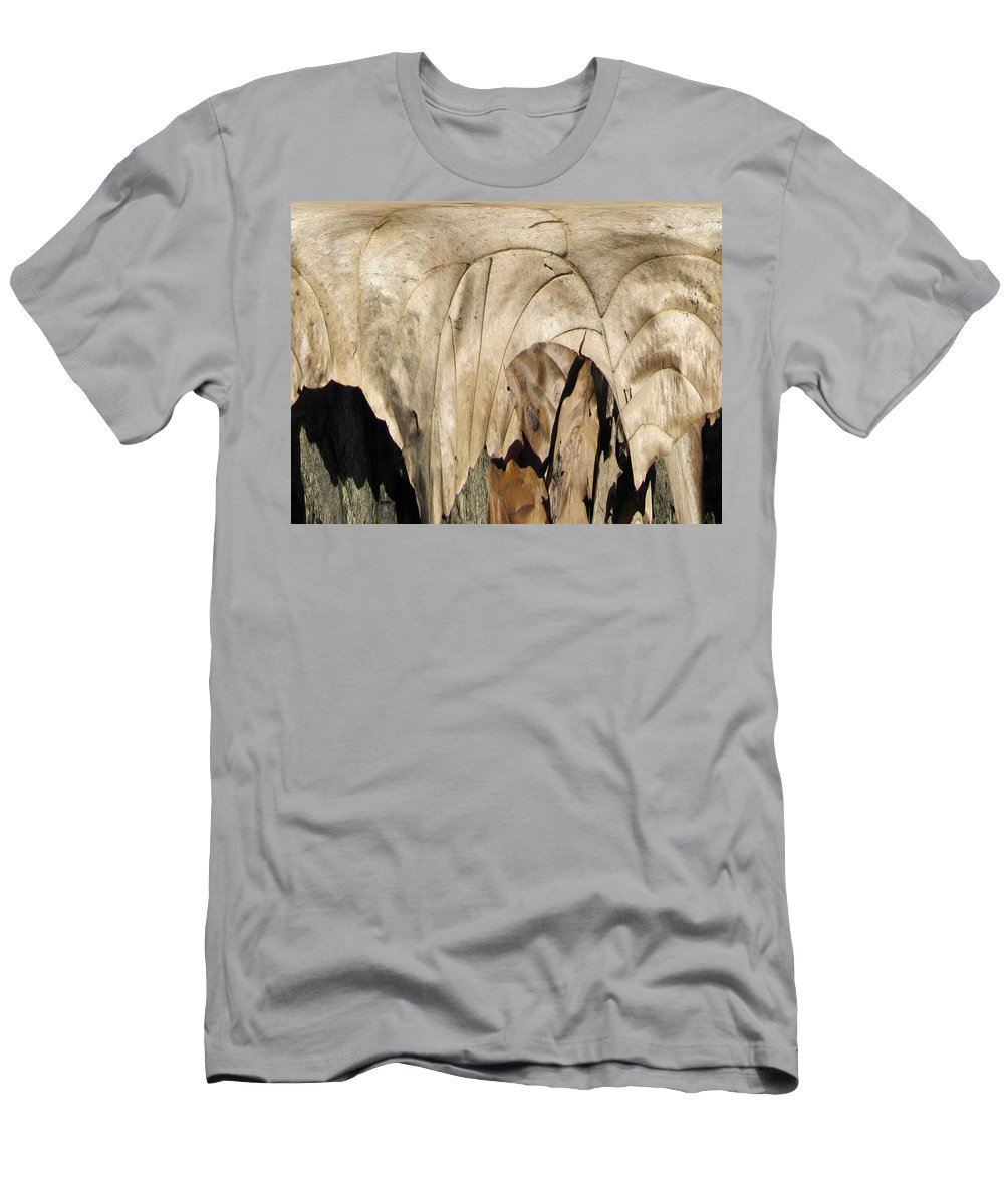 Forest Men's T-Shirt (Athletic Fit) featuring the digital art Forest Floor by Tim Allen