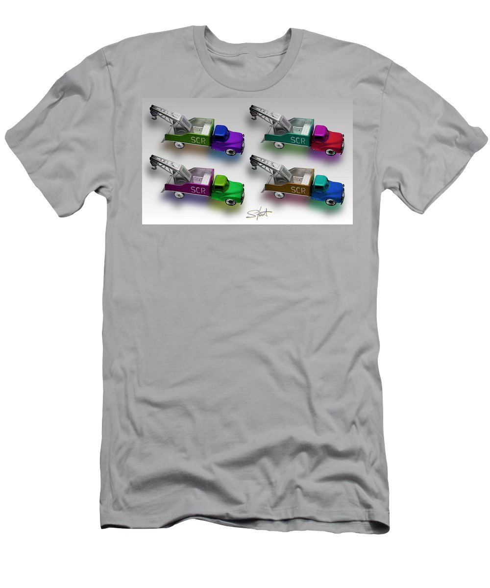 Toy Men's T-Shirt (Athletic Fit) featuring the photograph Four By Four by Charles Stuart