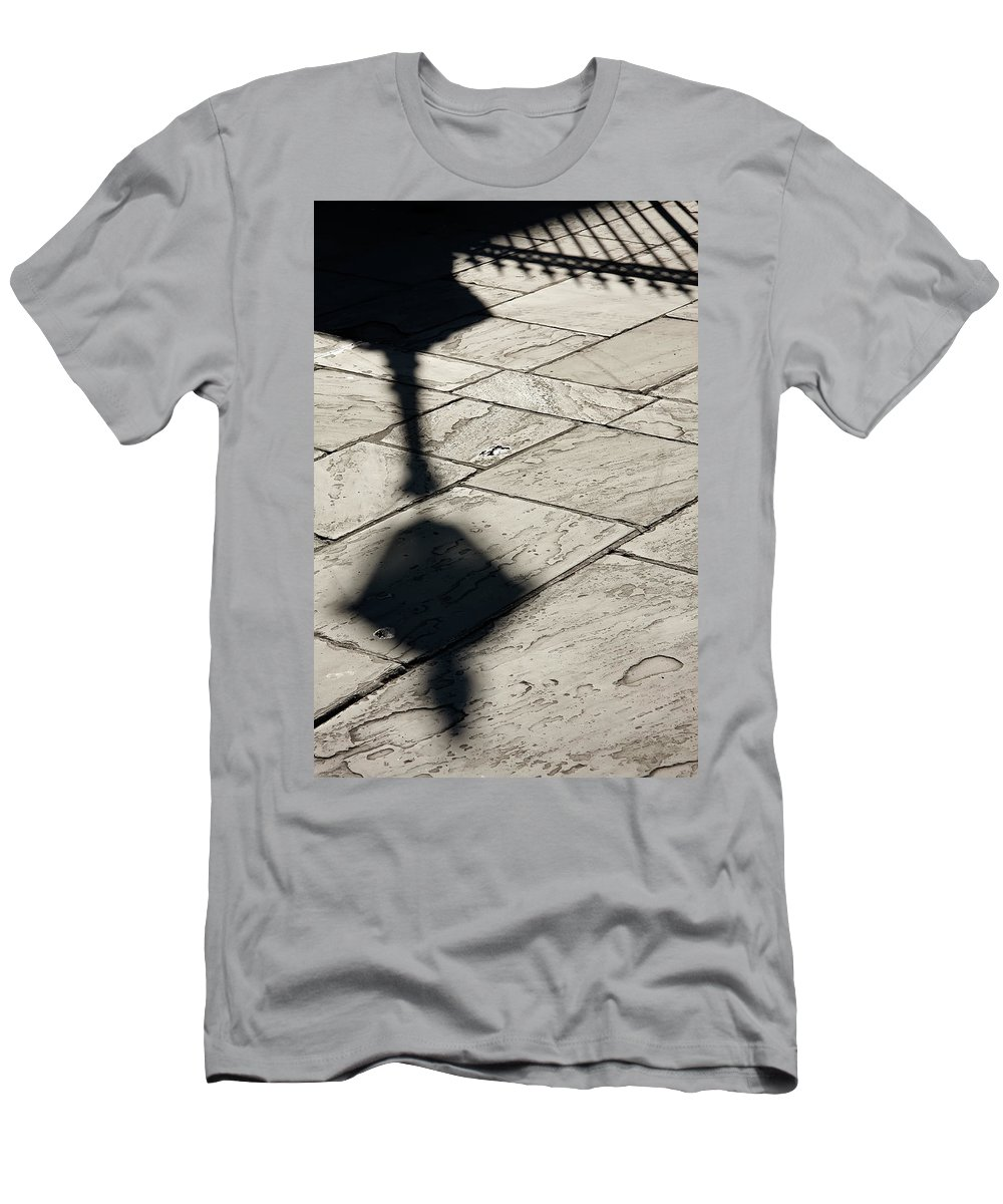 New Orleans Men's T-Shirt (Athletic Fit) featuring the photograph French Quarter Shadow by KG Thienemann