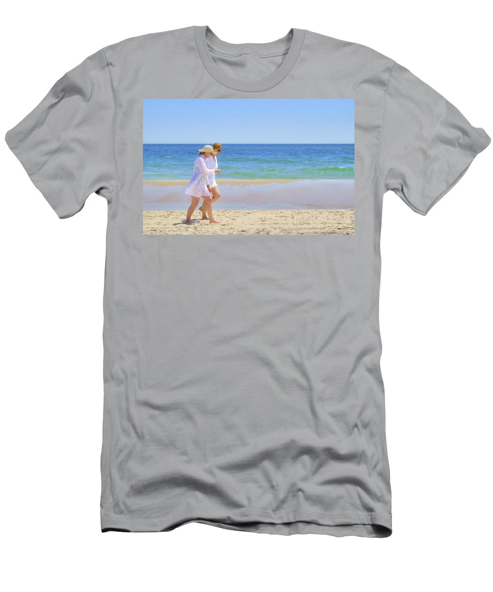 Women Men's T-Shirt (Athletic Fit) featuring the photograph Friendship by Keith Armstrong