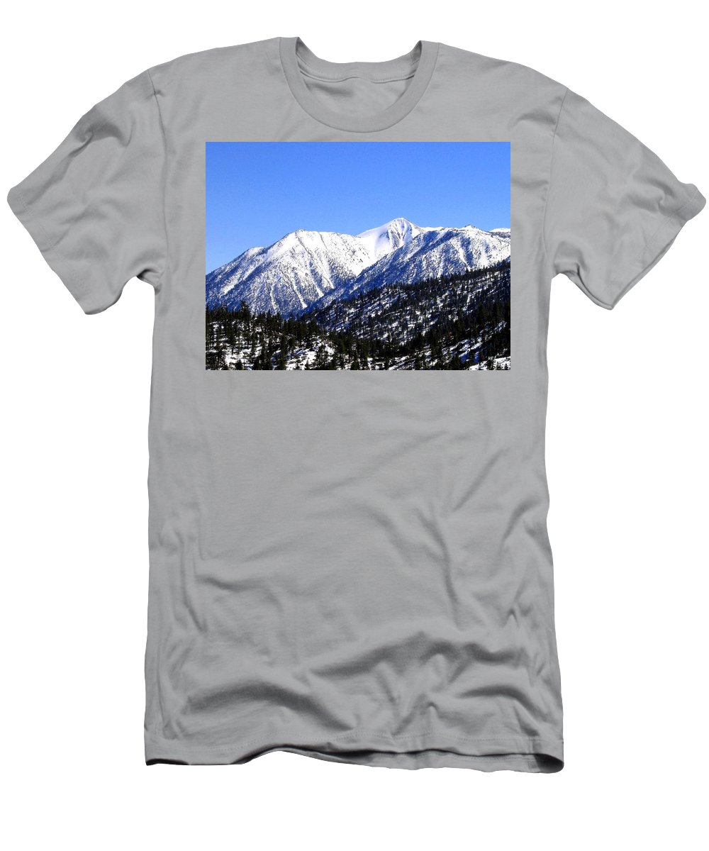 Mountain Men's T-Shirt (Athletic Fit) featuring the photograph Frontier Splendor by Will Borden