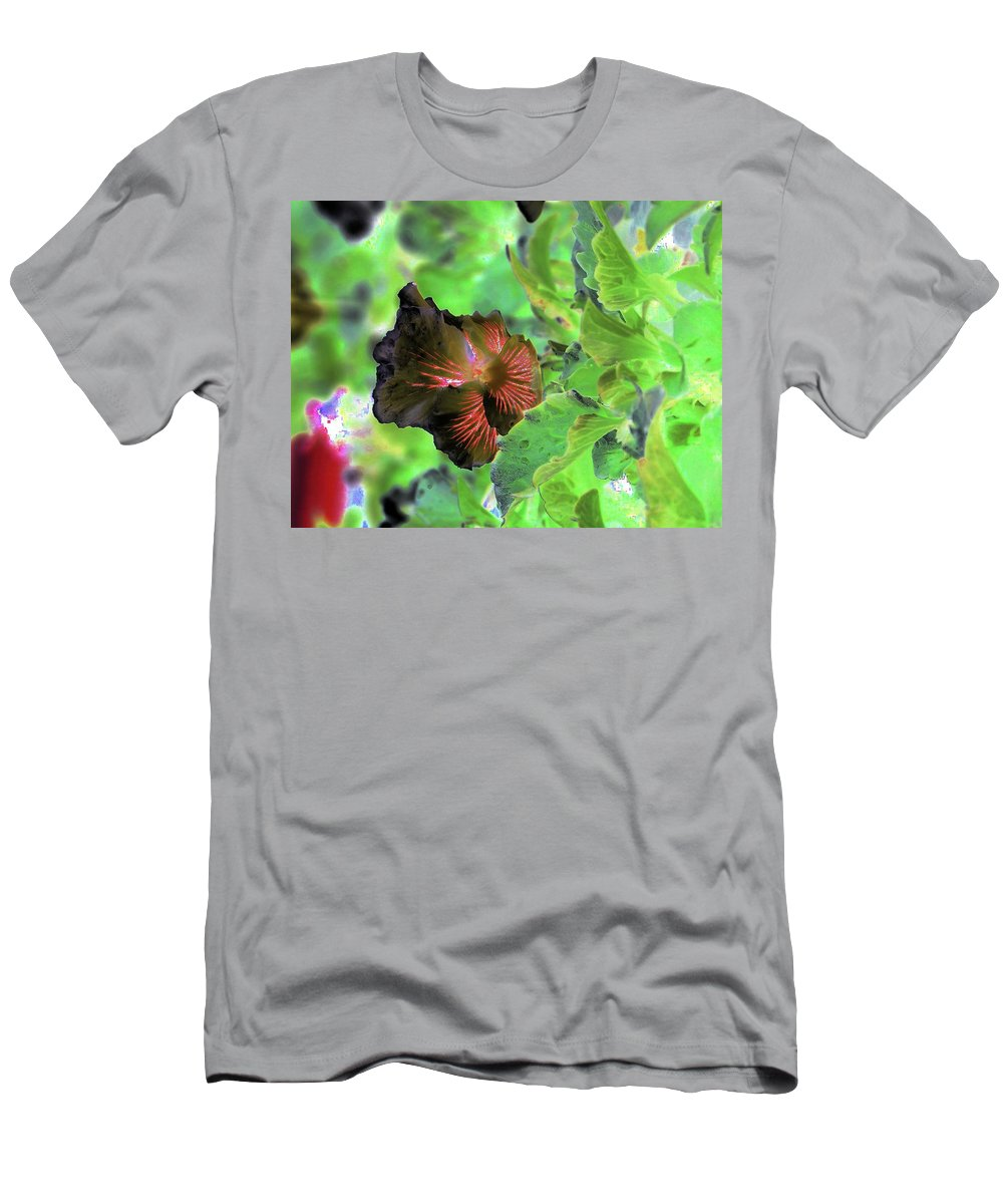 Abstract Men's T-Shirt (Athletic Fit) featuring the photograph Gazing Up by Jeff Swan