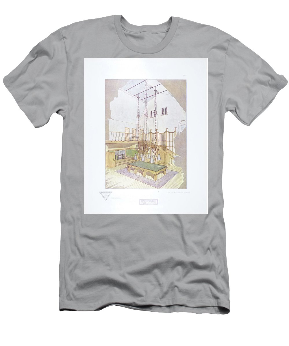 Max Joseph Gradl Men's T-Shirt (Athletic Fit) featuring the painting George Walton by Max Joseph
