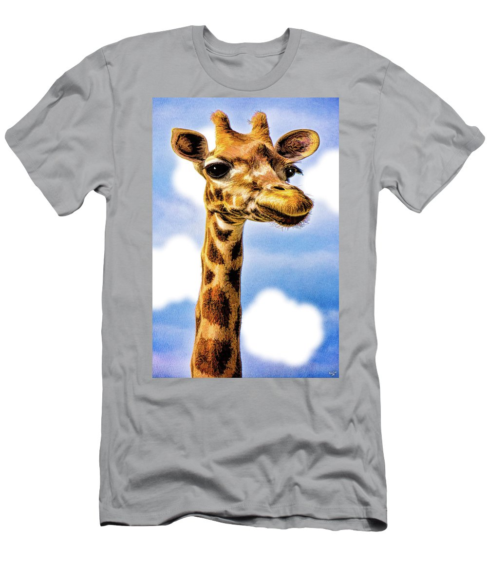 Gertrude Men's T-Shirt (Athletic Fit) featuring the photograph Gertie by Chris Lord