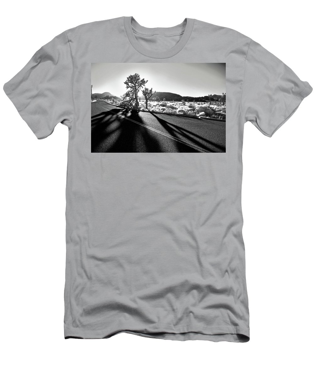 Joshua Tree Men's T-Shirt (Athletic Fit) featuring the photograph Ghouls by Laurie Search