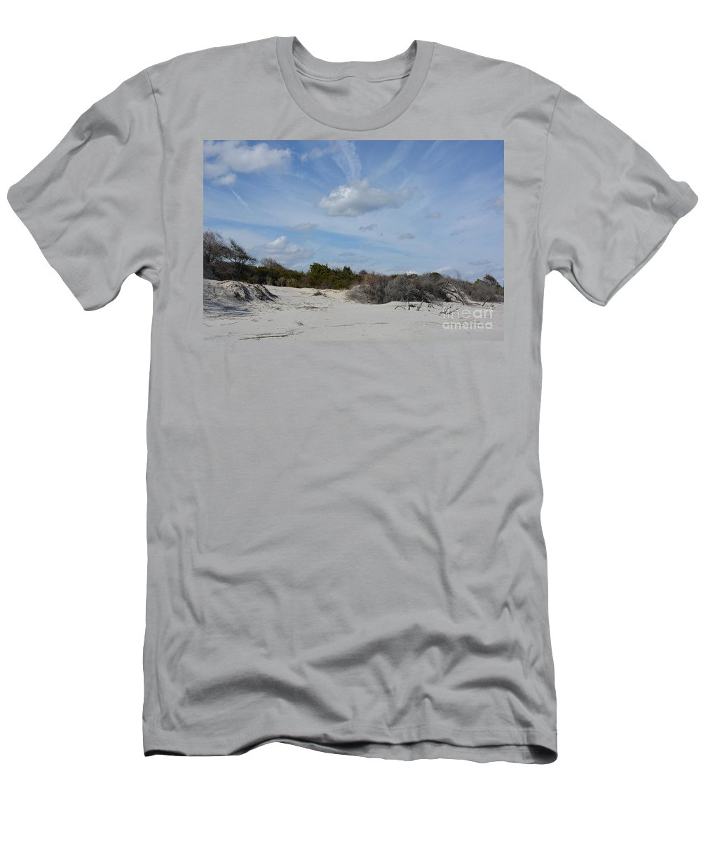 Glory Beach Men's T-Shirt (Athletic Fit) featuring the photograph Glory Beach by Katherine W Morse