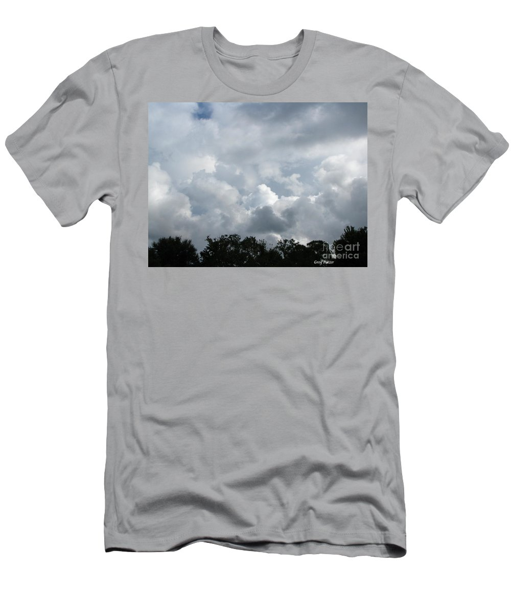 Patzer Men's T-Shirt (Athletic Fit) featuring the photograph God Scent by Greg Patzer