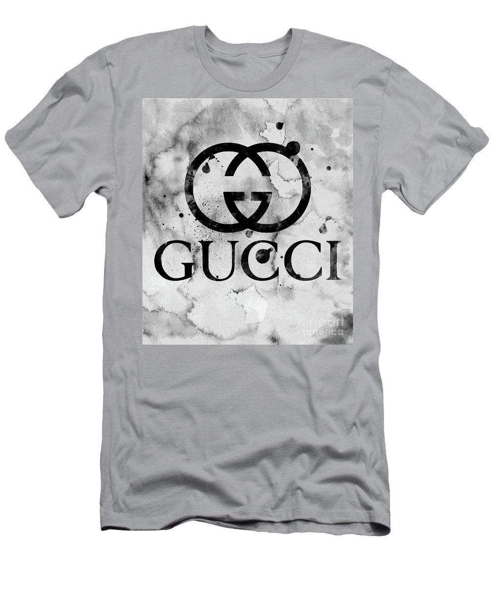 Gucci Logo Black 1 Men\u0027s T,Shirt (Athletic Fit)