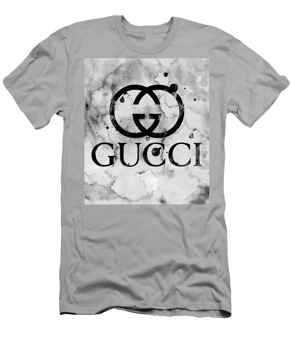 118608aad22 Gucci Logo Black 1 T-Shirt for Sale by Del Art