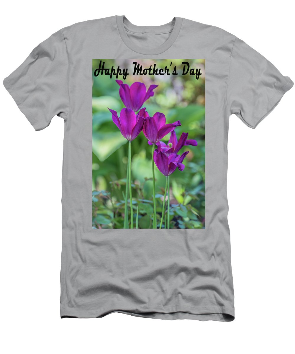 Mother's Day Men's T-Shirt (Athletic Fit) featuring the photograph Happy Mother's Day by Janet Argenta