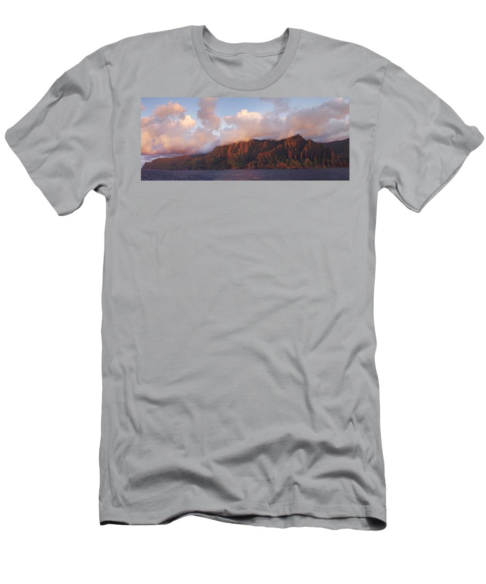 Hawaii Men's T-Shirt (Athletic Fit) featuring the photograph Hawaii by Heather Coen