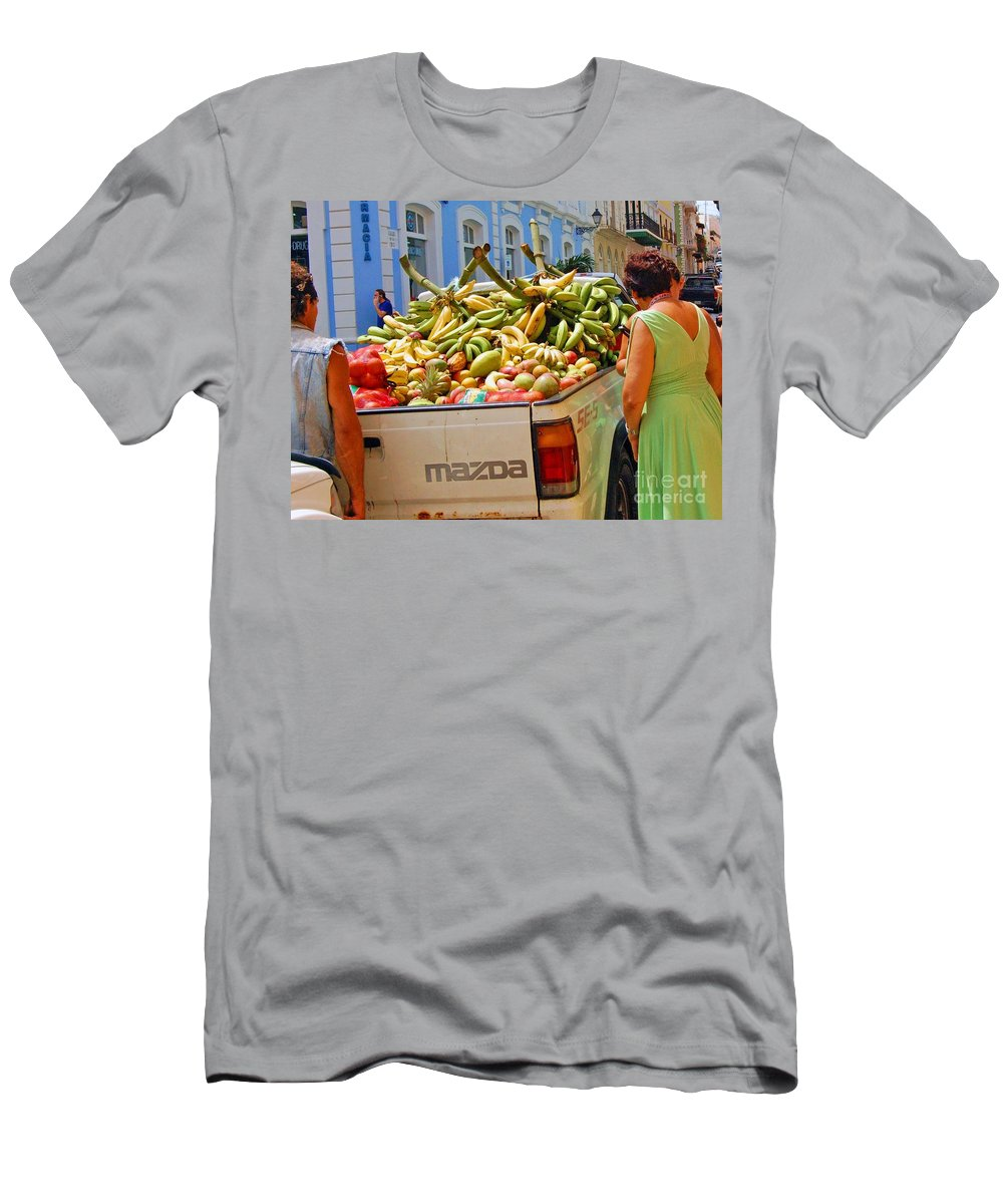 Fruit Men's T-Shirt (Athletic Fit) featuring the photograph Healthy Fast Food by Debbi Granruth