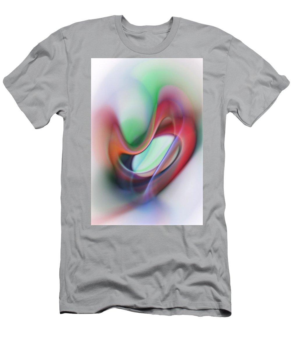 Fine Art Men's T-Shirt (Athletic Fit) featuring the digital art Heart Felt by David Lane