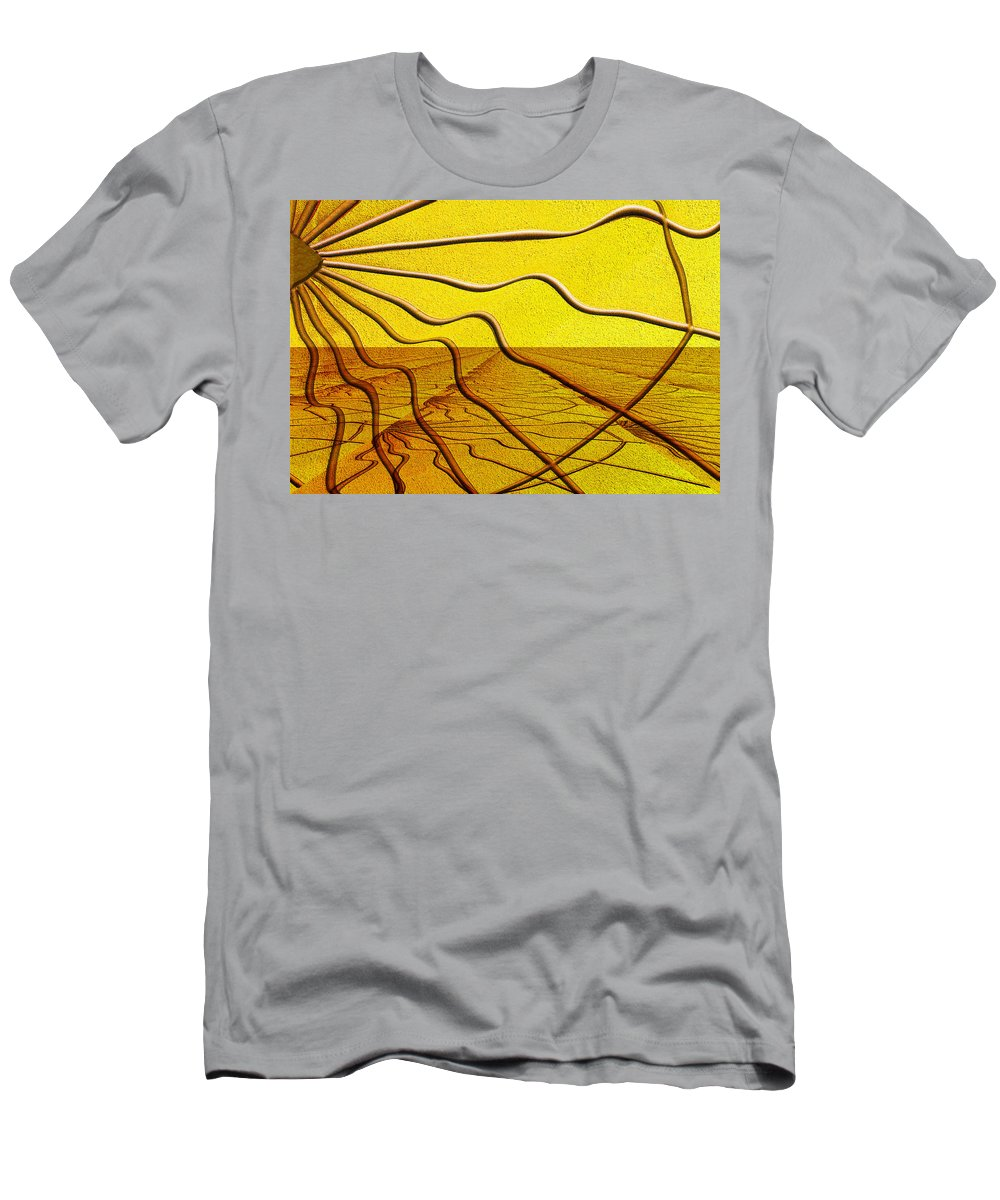 Photography Men's T-Shirt (Athletic Fit) featuring the photograph Hello Dali by Paul Wear