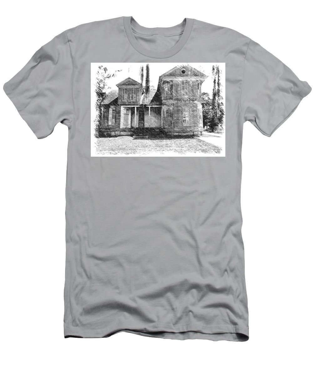 Louisiana T-Shirt featuring the photograph Homestead 2 by Dick Goodman