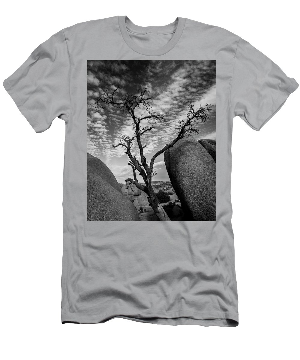 Desert Men's T-Shirt (Athletic Fit) featuring the photograph Hunger In The Desert by ChrisAntoniniPhotography