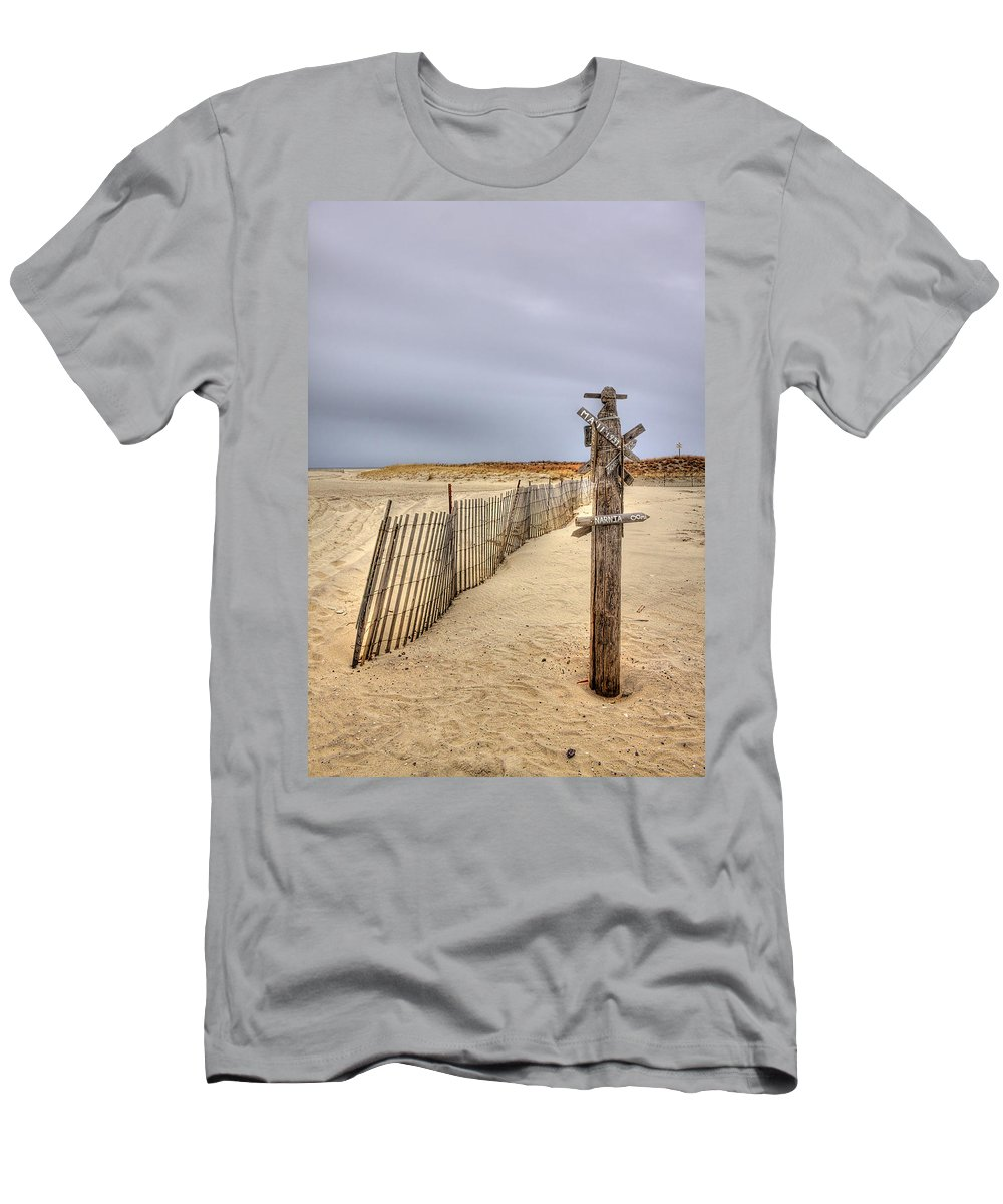 Beach Men's T-Shirt (Athletic Fit) featuring the photograph I Dream Of Maui... by Evelina Kremsdorf
