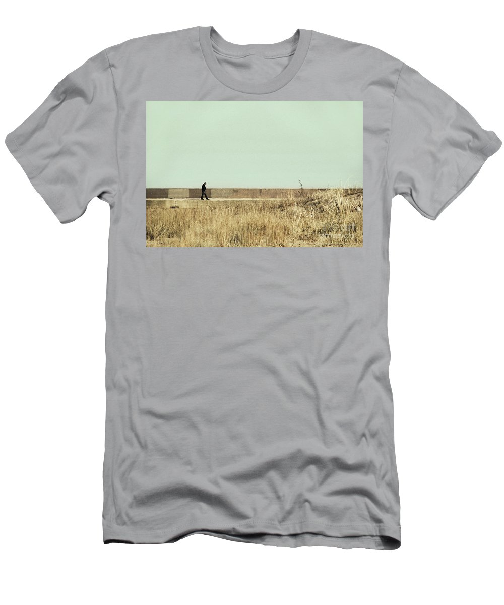 Dipasquale Men's T-Shirt (Athletic Fit) featuring the photograph I Remember What We Said by Dana DiPasquale